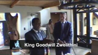 SHAKA ZULU RESTAURANT CAMDEN LONDON ENGLAND ::: FOUNDER MEETS KING GOODWILL ZWELITHINI :::