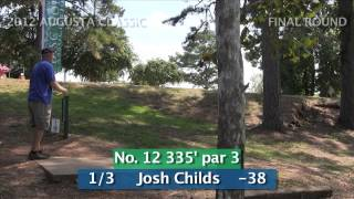 Final Round 2012 Augusta Classic Disc Golf Tournament
