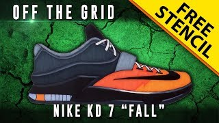 "Off The Grid: Nike KD 7 ""Fall"""