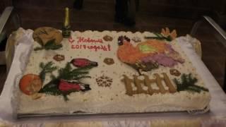 Новый Год 2017   торт