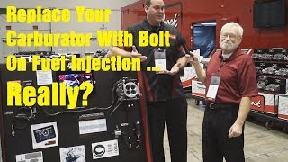 Edelbrock Bolt On Fuel Injection - Wrenchin