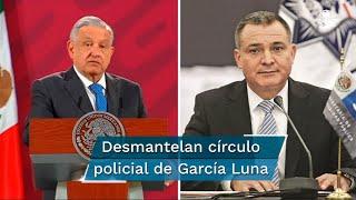 """""""Todos ellos se formaron en el Cisen, son historias negras que se fueron formando todos estos policías, aplaudidos, reconocidos"""", señaló Andrés Manuel López Obrador"""