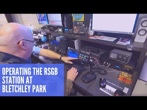 Operating The GB3RS RSGB Radio Station At Bletchley Park