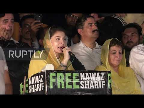 Pakistan: Maryam Nawaz Sharif tells supporters PM Khan 'stole' their votes