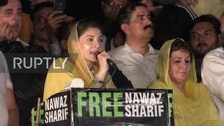 Pakistan: Maryam Nawaz Sharif tells supporters PM Khan 'stole' their votes