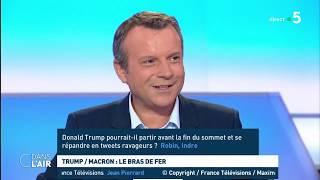 Macron/Trump : le bras de fer - Les questions SMS #cdanslair 24.08.2019