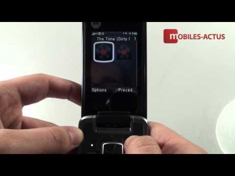 Motorola Gleam - Démonstration, prise en main et test