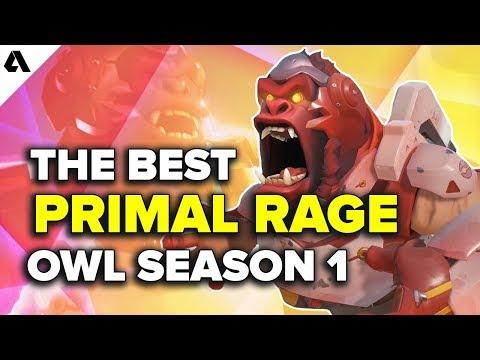 Top 5 Best of Primal Rages   Overwatch League Season 1 thumbnail