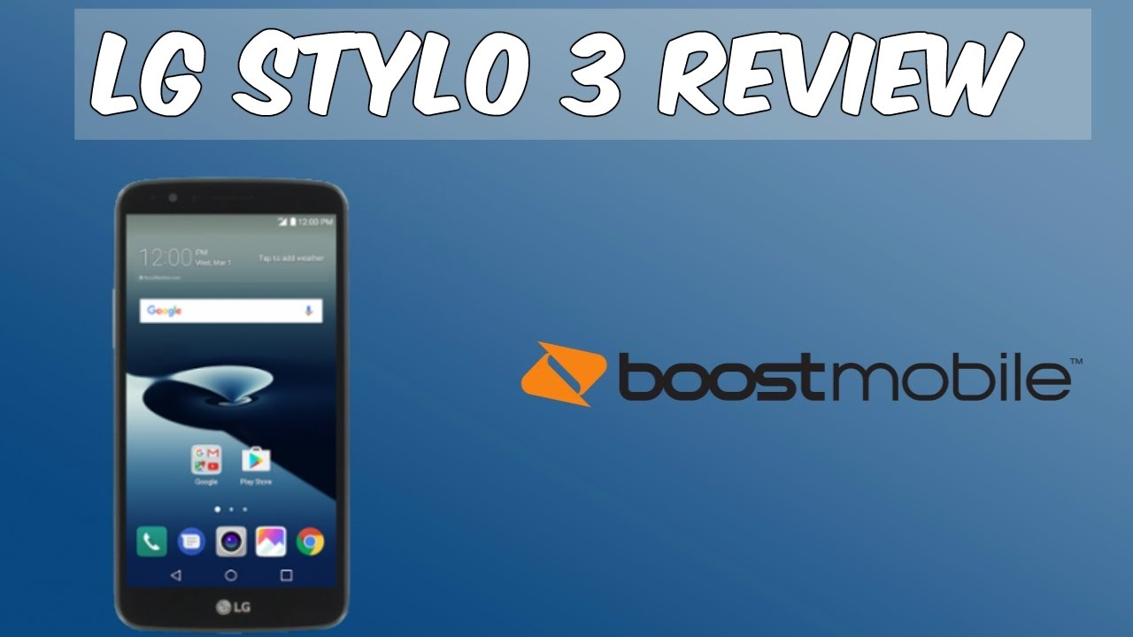 LG Stylo 3 Full Review (Boost Mobile) HD