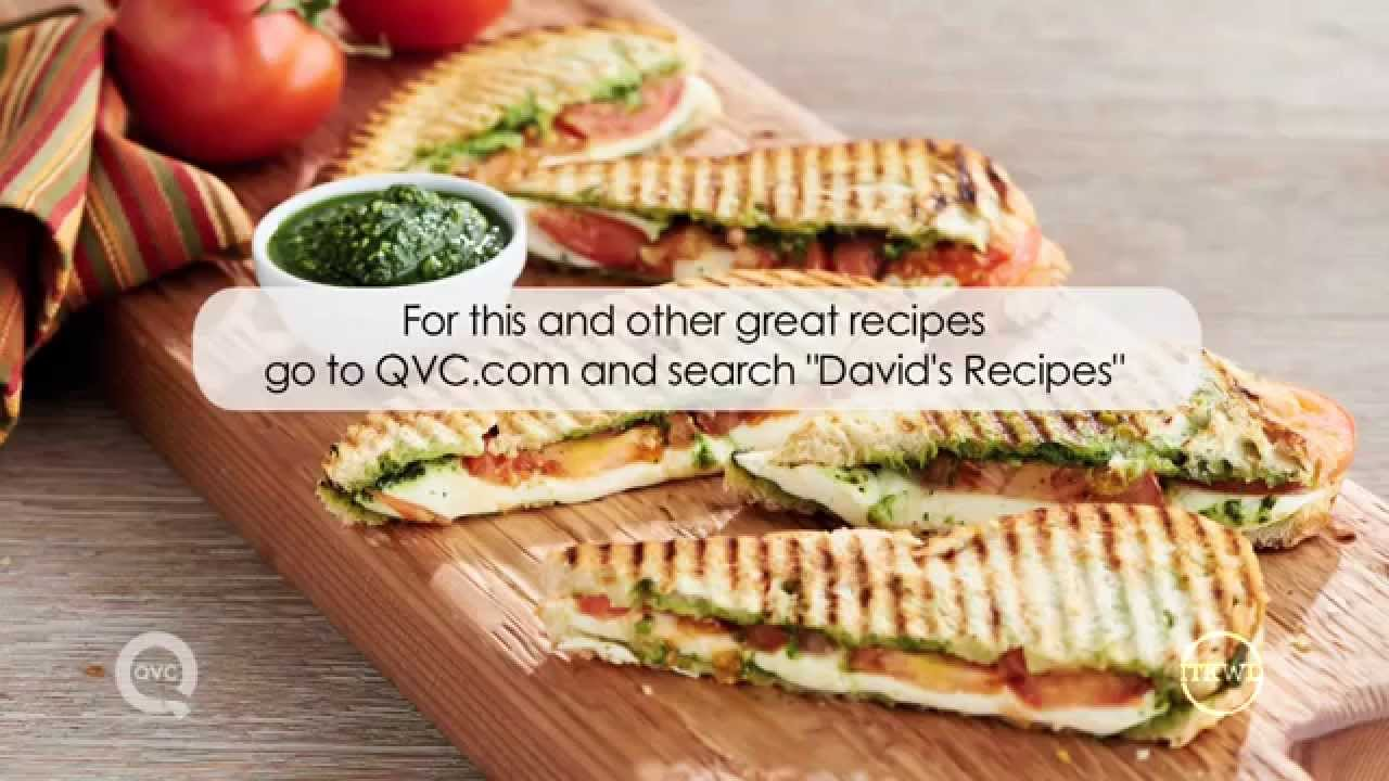 How To Make A Caprese Panini: In The Kitchen With David Venable