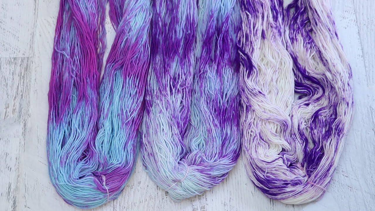 Dyepot Weekly #75 - Dry Rub with Wilton\'s Violet Food Coloring Three ...