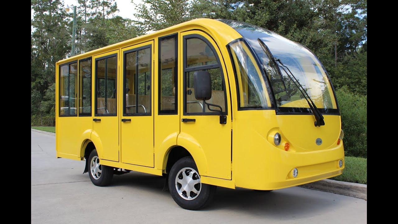 9 Passenger Enclosed Electric Shuttle From Bintelli