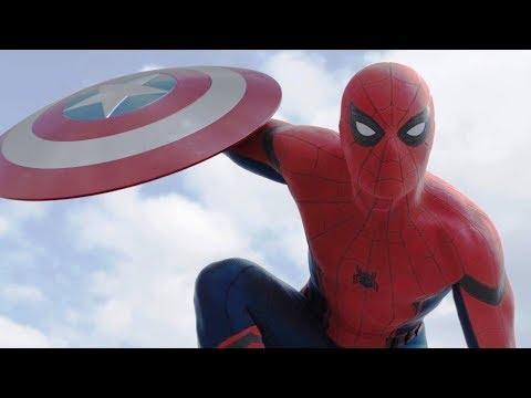 Первое появление Человека паука. Я не Хочу делать тебе Больно. Первый Мститель Противостояние