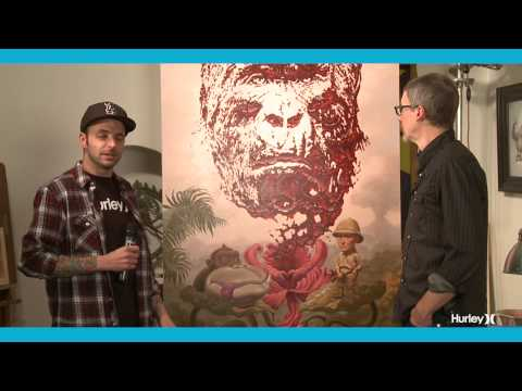 Interview with Hurley featured artist, Todd Schorr
