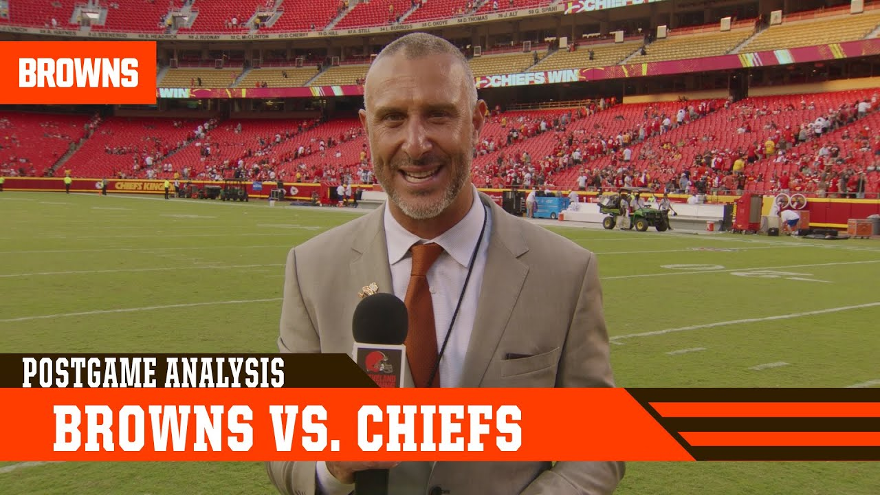 Browns build early lead but can't hold on in Kansas City