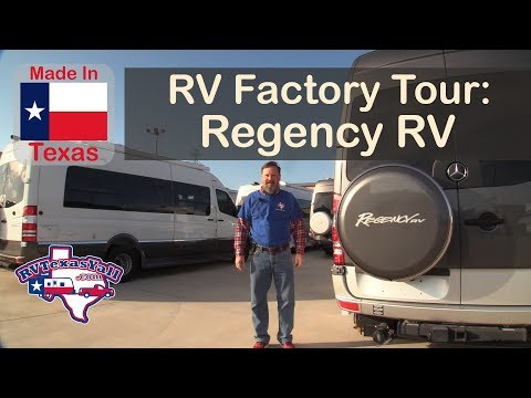 Made in Texas: Regency RV Factory Tour, Fort Worth TX | RV Texas