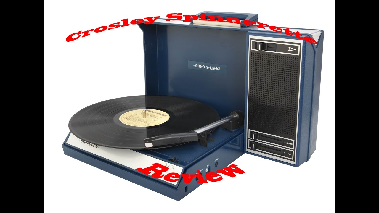 crosley spinnerette turntable review modern record player vs vintage youtube. Black Bedroom Furniture Sets. Home Design Ideas