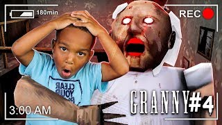 ESCAPE SCARY GRANNY HOUSE AT 3AM CHALLENGE PART 4 | Don
