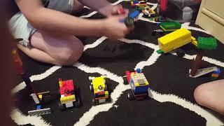 Moja kolekcja z Lego - traktory i maszyny rolnicze