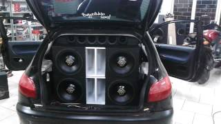 2 Hd3000 + 4x Spyder Kaos 600w