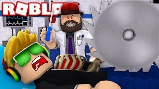 DOCTORS GONE MAD WE HAVE TO ESCAPE HOSPITAL OBBY WITH MY DAD | ROBLOX PARKOUR