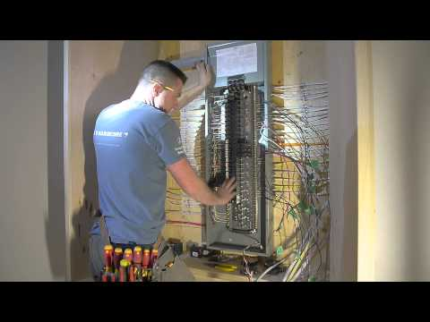 Finalizing the Siemens Electrical Panel Episode # 234 Hardco