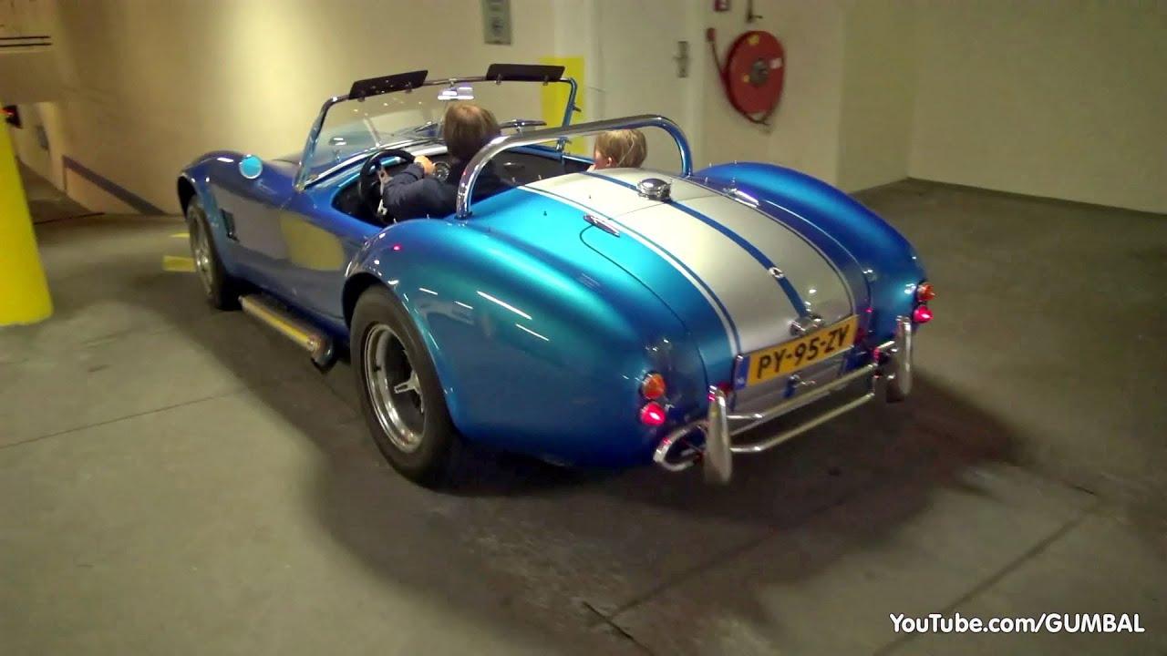 DAX Cobra 427 - Brutal V8 Sounds!