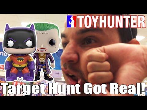 Toy Hunting @ Target for Zur-En-Ahhr Batman & Boxer Joker just got Real!