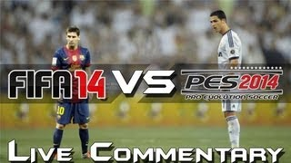 One of AA9skillz's most viewed videos: FIFA 14 VS PES 14!