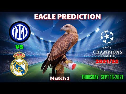 Inter Milan vs Real Madrid Prediction    Champions League 2021/22    Eagle Prediction