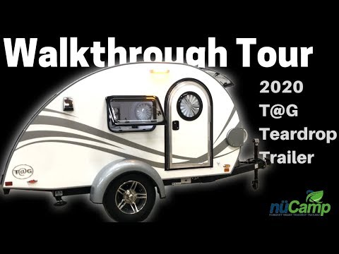 2020 TAG Teardrop Trailer Walkthrough Tour (UPDATES!)