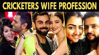Cricketers Wife Profession Before Marriage   Sakshi Dhoni , Priyanka Chaudhary Raina  Anushka Virat