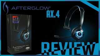 AfterGlow AX.4:  XBOX 360 Headset | Unboxing And Review