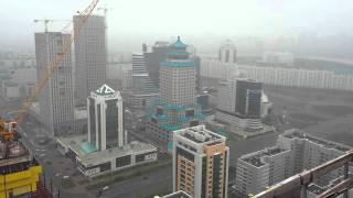 Астана вид с абудаби плаза