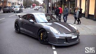 Porsche 991 GT3 - Roaming in London - Great Spec in Grey