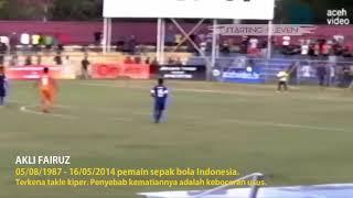 Candra Faiz-Tragedi 15 Pemain Sepak Bola Paling mengerikan