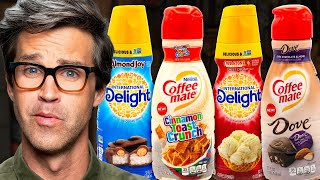 Sweet Flavored Coffee Creamers Taste Test