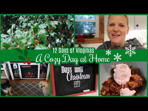 12 DAYS OF VLOGMAS - DAY 5 / A COZY DAY AT HOME