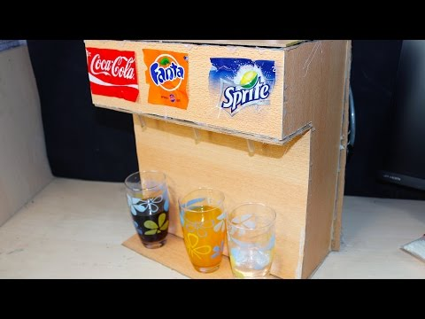 Thumbnail: DIY CoCa Cola Soda Fountain Machine - Coca Cola, Fanta, Sprite 3 in 1 Dispenser