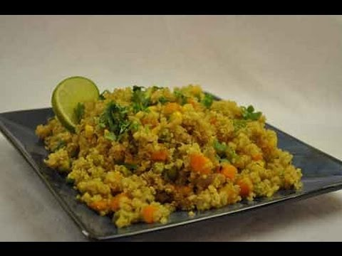 Quinoa pulao indian recipe youtube for Quinoa recipes indian