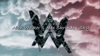 Alan Walker & Alex Skrindo - Sky (Lyrics)