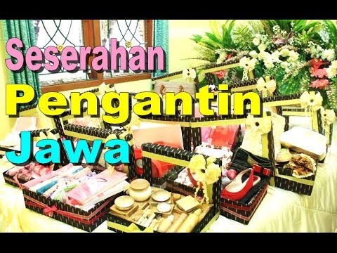 Jenis SESERAHAN PENGANTIN Jawa Betawi - GIFT for The Bride Ceremony [HD]