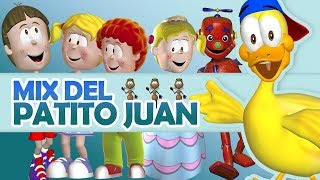 Media Hora Con El Patito Juan y Sus Amigos - Canciones Infantiles