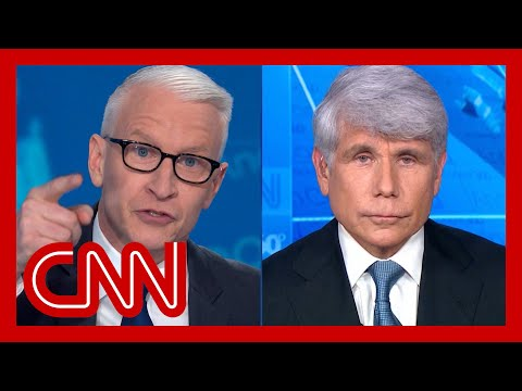 Anderson Cooper on Rod Blagojevich claim: Just nuts
