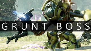 Halo 5 - Warzone Firefight // Grunt Goblin Mech Boss Battle