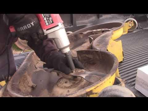 John Deere Mower Deck Spindle Replace
