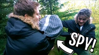 WE CAUGHT A SPY IN ICELAND! (Secret Agent Mission)