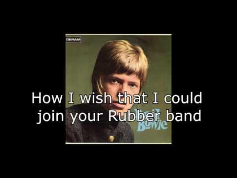 Rubber Band | David Bowie + Lyrics