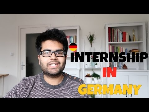 How to get an Internship in Germany