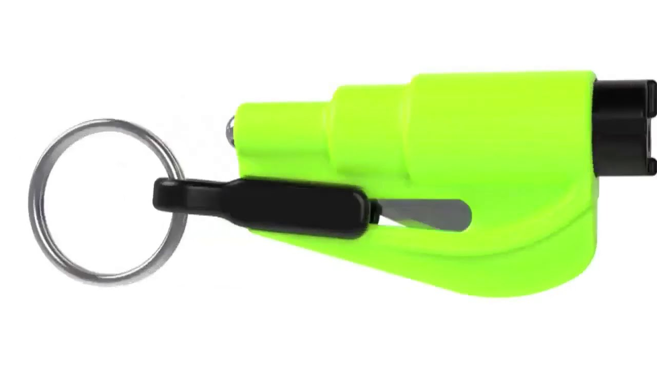 RESQME Keychain Escape Tool Black Pack of 6